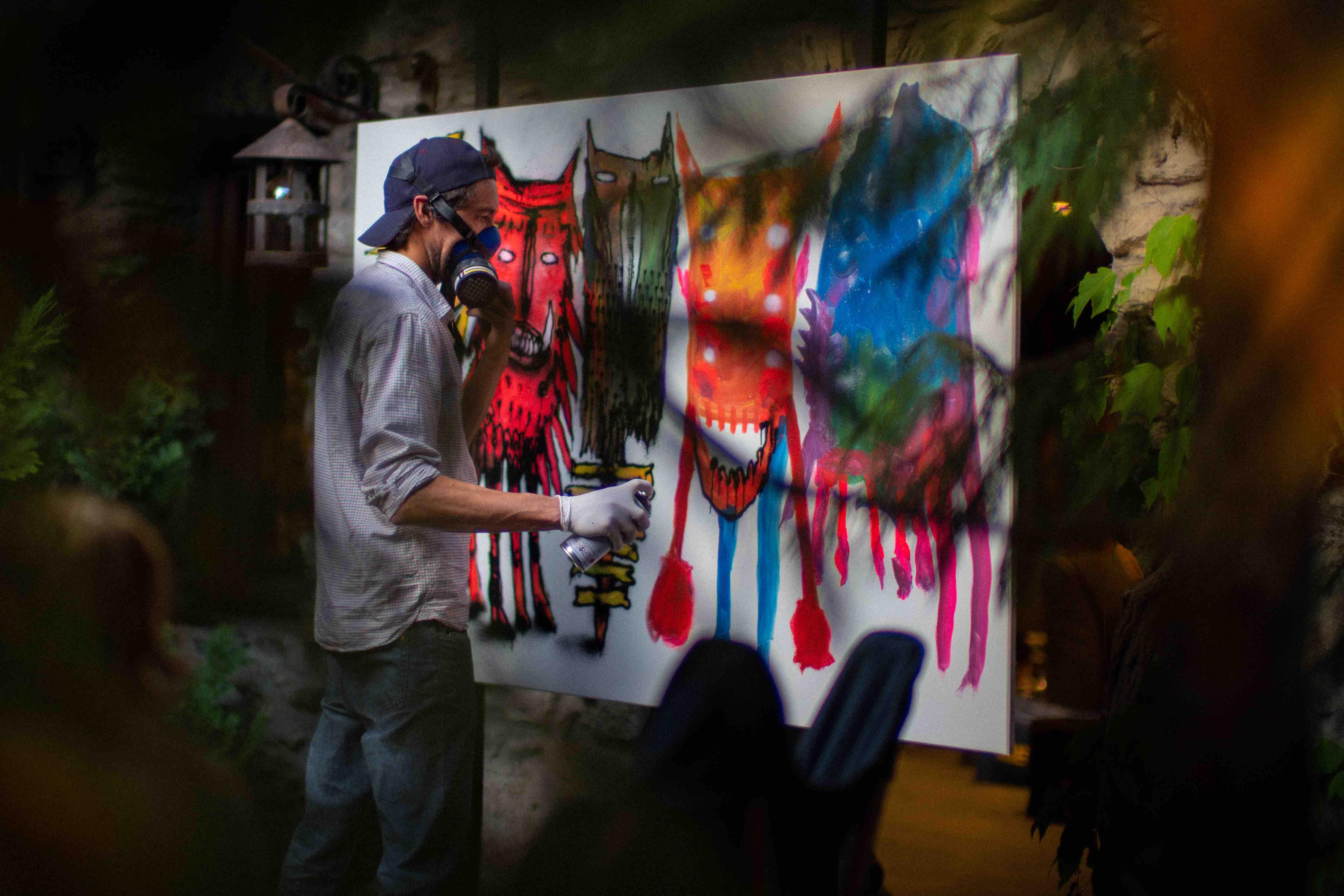Bault Street Art Art Urbain Galerie Daltra Megève